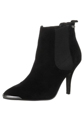 Pepe Jeans Ford Chelsea High Heeled Ankle Boots Black