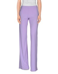 Fisico Cristina Ferrari Trousers Casual Trousers Women Lilac