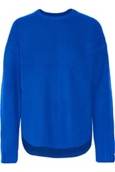 Alexander Wang Wool And Cashmere Blend Sweater Bright Blue