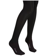 Bootights Core Semi Opaque Tight Ankle Sock Jet Black Hose