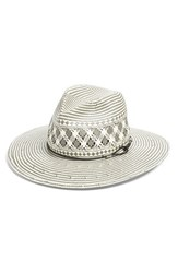 Rag And Bone Women's Rag And Bone Wide Brim Straw Fedora