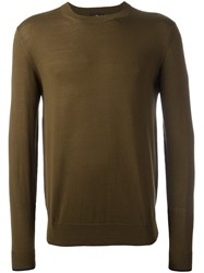 Paul Smith Ps By Fine Knit Jumper Green