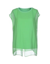 Elie Tahari Blouses Light Green