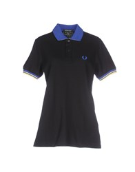 Fred Perry Topwear Polo Shirts Women Black