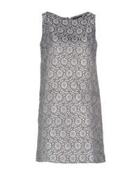 Andreaturchi Short Dresses Grey