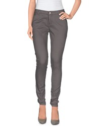 Only Trousers Casual Trousers Women Dove Grey