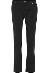 M Missoni Low Rise Slim Fit Jeans Black
