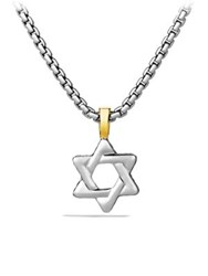 David Yurman Cable Classics Star Of David Pendant No Color