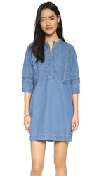 M.I.H Jeans Angie Dress Blue Chambray