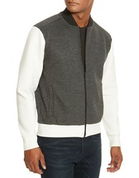 Kenneth Cole Long Sleeve Full Zip Jacket Charcoal