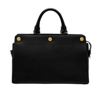 Mulberry Chester Textured Goat Leather Bag Black