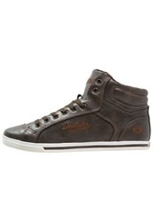 Dockers By Gerli Hightop Trainers Cafe Dark Brown