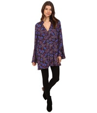 Free People Magic Mystery Tunic Wine Women's Clothing Burgundy
