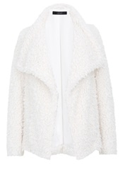Hallhuber Fake Fur Fake Fur Jacket White