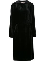 Veronique Branquinho Hooded Dress Black