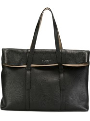 Orciani Rectangular Tote Bag Black