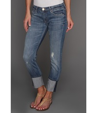 Hudson Muse Crop W 5 Cuff In Indie Indie Women's Jeans Black