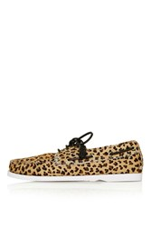 Harpsden Boat Shoe By Unique True Leopard