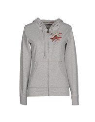 Aeronautica Militare Topwear Sweatshirts Women Light Grey