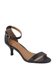 Corso Como Caitlynn Leather Sandals Black