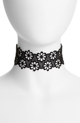 Frasier Sterling Women's Lacy Daisy Choker