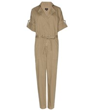 Citizens Of Humanity Sierra Cotton Jumpsuit Green