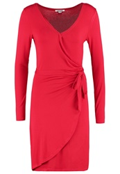 Smash Celta Jersey Dress Red