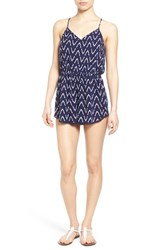 Junior Women's Bp. Print Romper