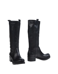 Scoop Boots Black