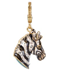 Bruce Zebra Charm Jay Strongwater Multi Colors