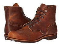 Red Wing Shoes 6 Iron Ranger Lug Copper Rough Tough Men's Lace Up Boots Brown