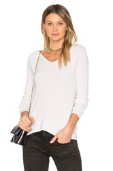 Leo And Sage V Neck Sweater Gray