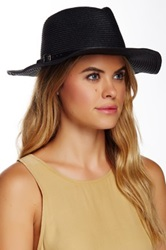 14Th And Union Knit Paper Panama Hat Black
