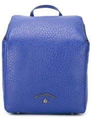 Vivienne Westwood Anglomania Rectangular Body Backpack Blue