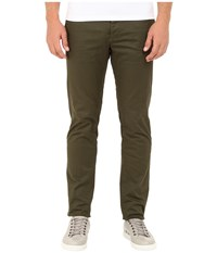 Dsquared Stretch Cotton Tokyo Pants Green Men's Casual Pants