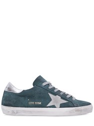 Golden Goose 10Mm Super Star Suede Sneakers