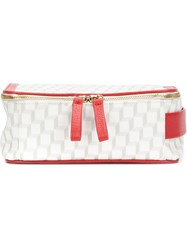 Pierre Hardy 'Cube' Wash Bag White