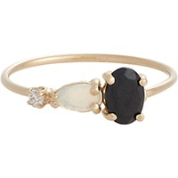 Loren Stewart Women's Multi Gemstone And Gold Ring No Color