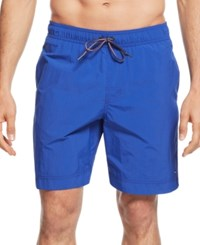 Tommy Hilfiger Big And Tall Tommy Swim Trunks Blue Nile