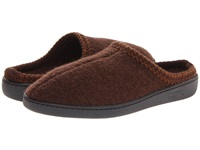 Haflinger At Classic Hardsole Chocolate Slippers Brown