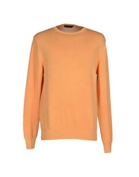 Andrea Morando Knitwear Jumpers Men Apricot
