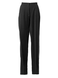 Christopher Kane Techno Crepe Wide Leg Trousers