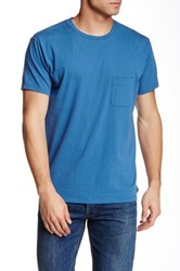 Marc By Marc Jacobs Solid Pocket Tee Blue