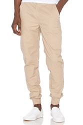 Native Youth Cuffed Chino Tan