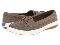 Keds Glimmer Boat Bronze Denim Women's Lace Up Casual Shoes Beige