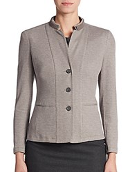 Peserico Wool Silk And Cashmere Blazer
