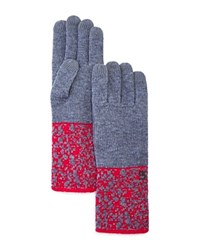 Urban Research Ur Reagan Tech Gloves Heather Gray