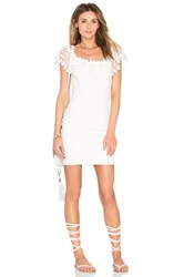 Wyldr Mailey Bodycon Dress White
