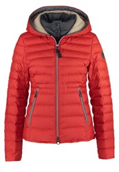 Marc O'polo Down Jacket Red Clay Orange