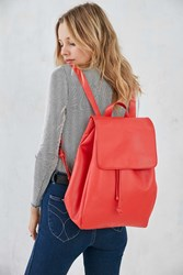 Bdg Saffiano Backpack Coral